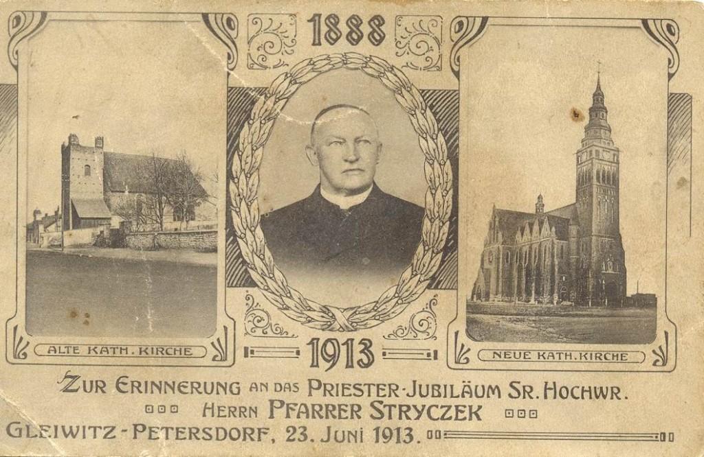 Pfarrer Stryczek - 1913